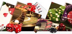 jeux cartes jetons roulette dés